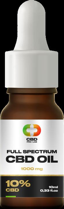 Aceite de CBD de 10% (1000mg) 10ml