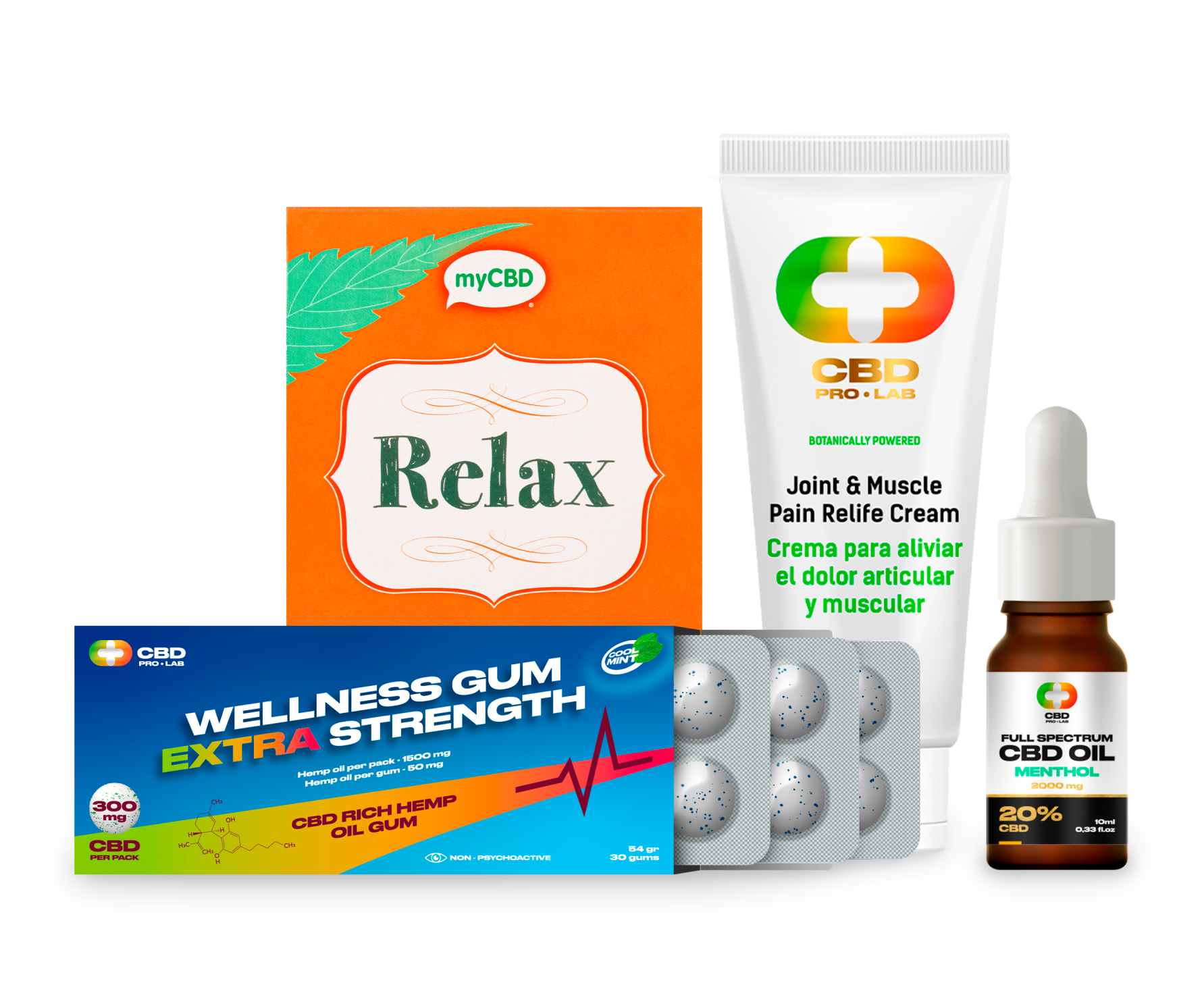 Pain Control Combo Extra - contra los dolores
