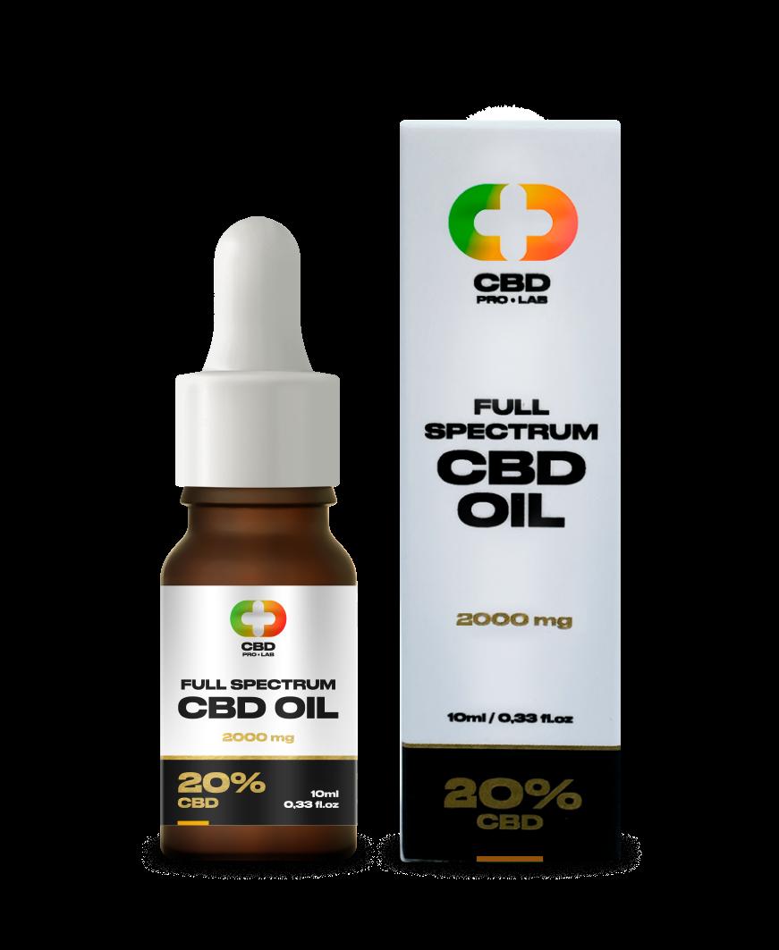 Aceite de CBD de 20% (2000mg) 10ml