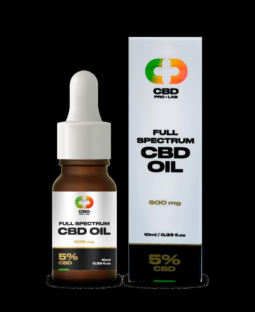 Aceite de CBD de 5% (500mg) 10ml