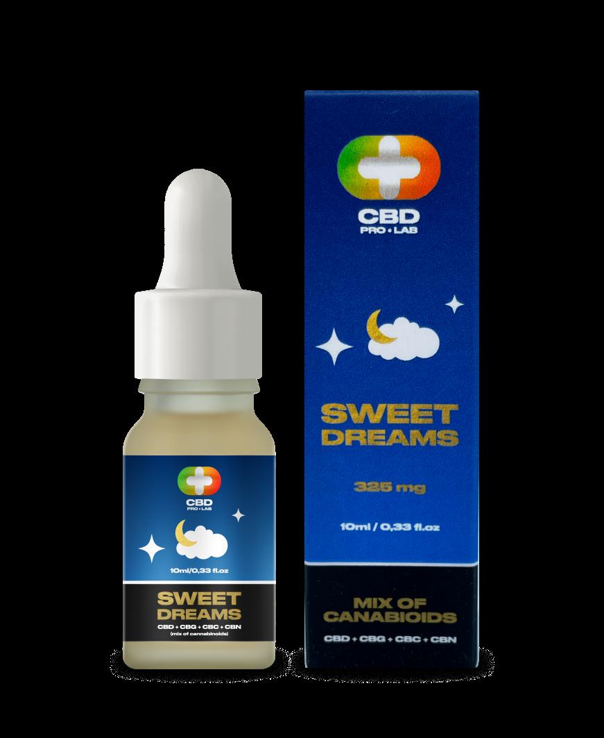 Sweet Dreams (mezcla de cannabinoides) 3.25% (325mg)10 ml