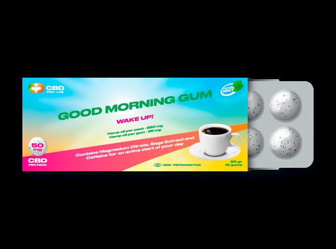 Chicles de CBD Good Morning 10 und